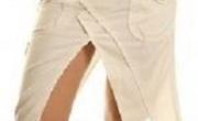 gonna bianca sexy donna taglia 44