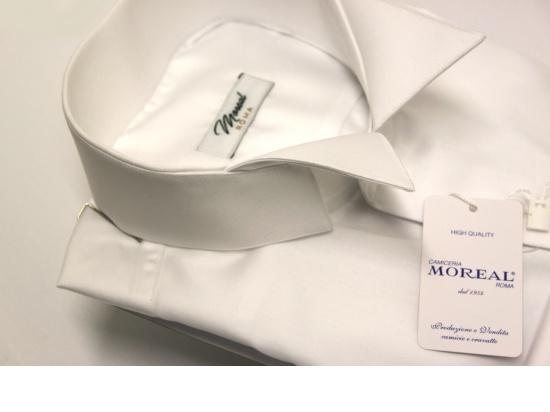 Camicia da smoking con collo diplomatico...