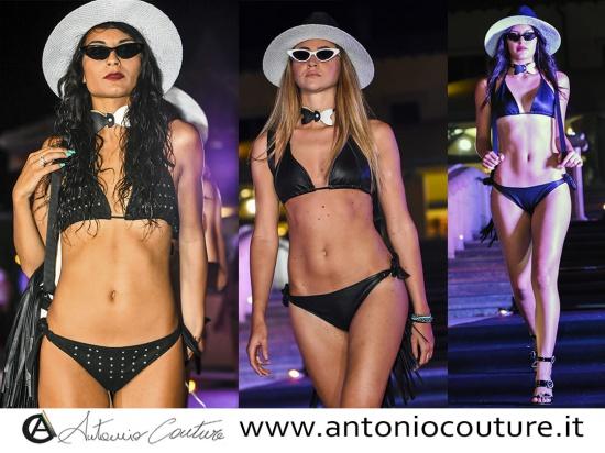 Bikini in pelle realizzati a mana, pelletteria art...