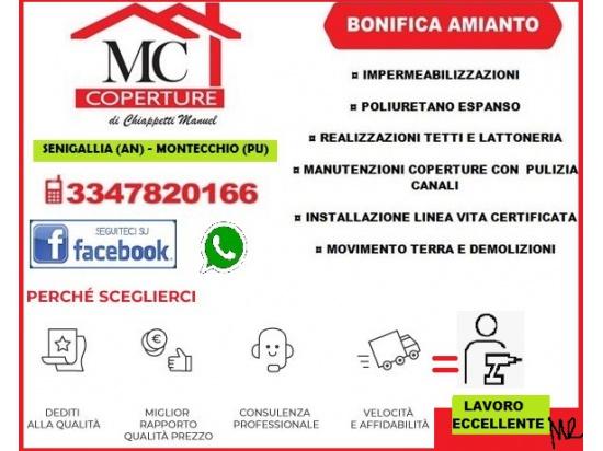 MC COPERTURE PER UN TETTO SICURO_lavoro eccellente...