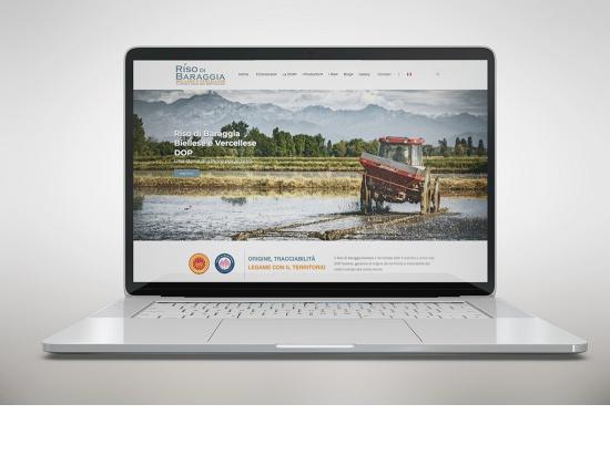 Sito web Consorzio Riso di Baraggia DOP...