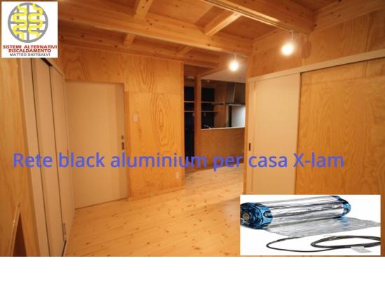 Riscaldamento elettrico applicato a casa struttura...