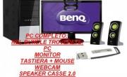 Pc completo di monitor ed accessori + penna + webcam + speaker - CmiTech