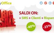 Saldi ON: +SMS +Clienti +Risparmio