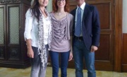 CATANZARO: musica, il Sindaco Abramo ha incontrato la vincitrice del Festival canoro 'Una Voce per lo Jonio', Laura Screnci
