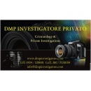 Logo dell'attività DMP INVESTIGATORE PRIVATO CRIMINOLOGY & PRIVATE INVESTIGATIONS_Investigazioni Private Sicilia ed Italia