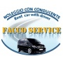 Logo Alessandro Rental Car With Driver- NCC-taxi service to / from Rome Airport Cell.328.2867691