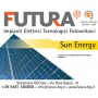 Logo Futura impianti elettrici tecnologici e fotovoltaici