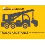 Logo cerrato trucks service