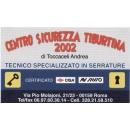 Logo dell'attività Centro Sicurezza Tiburtina 2002 di Andrea Toccaceli