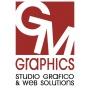 Logo GM GRAPHICS di Giuseppe Menna