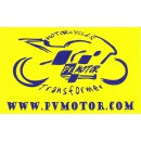 Logo dell'attività Vendita e riparazione di moto plurimarche, Ricambi, accessori e abbigliamento. Trasformazioni grafiche personalizzate su moto.