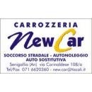 Logo dell'attività New Car srl - Autocarrozzeria, Autonoleggio e vendita auto usate a Senigallia