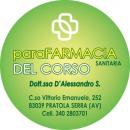 Logo dell'attività ParaFARMACIA del CORSO - SANITARIA della Dott.ssa S. D'Alessandro