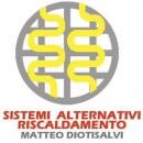Logo dell'attività  Riscaldamenti alternativi . Energie rinnovabili.