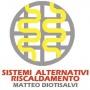 Logo  Sistemi di riscaldamento alternativi di Matteo Diotisalvi .