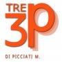 Logo Tre P - Confezioniamo le vostre idee!