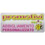 Logo PROMOTIVI:Personalizza e distribuisce abbigliamento ed oggettistica promozionale con stampa serigrafica e ricamo ad Asti