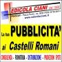 Logo Edicola Ciani consulenza, fornitura e distribuzione pubblicità ai Castelli Romani