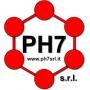 Logo PH7 s.r.l. Laboratorio analisi chimiche industriali, prove tecnologiche