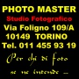 Logo Photo Master studio fotografico in Torino