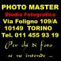 Logo Photo Master studio fotografico in Torino
