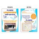Logo dell'attività pil wash lavanderia selfservice