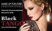 Presentazione Black Tango Look Autunno/Inverno 2012