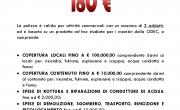 Polizza Attività Commerciale 180€