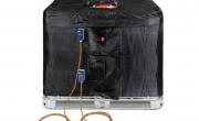 Scaldafusti e coperte termostatiche  1000 LT per contenitori IBC