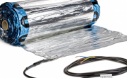 Rete di riscaldamento radiante elettrico per pavimenti a secco