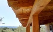 Verande Coperte in legno lamellare
