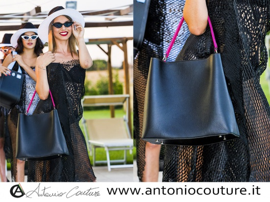 made in italy, borsa donna in pelle, leather bag, ...