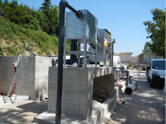 costruzione impianto depuratore consortile...