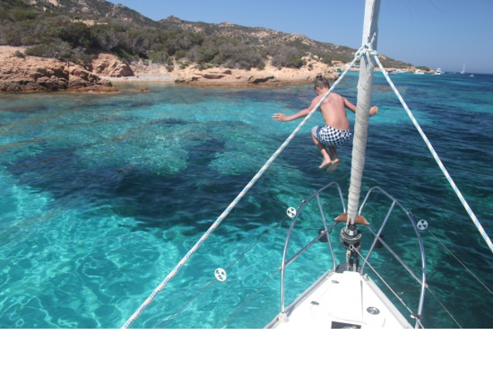 un tuffo nelle acque delle isole della maddalena i...