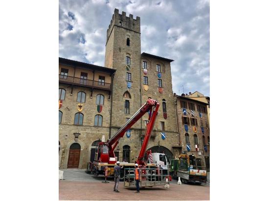 Nella bella Arezzo....