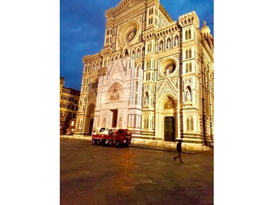 Lavori al duomo di Firenze....