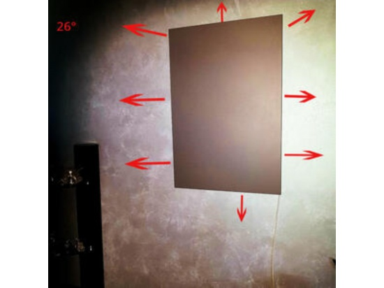 Pannelli radianti per riscaldamento a parete  in m...