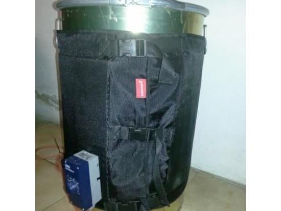 Fascia scaldante per fusto metallico : capacità 2...