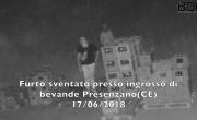 Furto sventato presso ingrosso di bibite Presenzano (CE) - Sistema Bor Security - YouTube