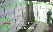 Furto sventato in villa a Caserta - Sistema BOR Security - YouTube