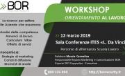 Workshop di orientamento al lavoro - Evento di promozione sociale