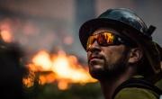Incendio al deposito di rifiuti speciali a Settimo Milanese