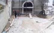 Tenta furto nel cantiere edile ma è costretto alla fuga | FOTO