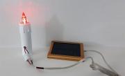 Lumini votivi con pannello solare. Real Votiva Store