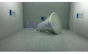Faretto GU10-LED 4W alta efficienza 340 - 360 Lm. Dissipazione in alluminio. - Idrofer-Store