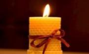 Candele Cera d'Api Vendita Online - Apicoltura I Frutti dell'Alveare