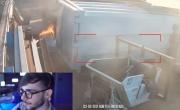 Principio di incendio rilevato in un deposito ad Acerra (NA)