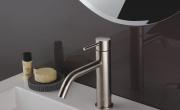 Linea Xoni di Roberto Crolla Rubinetterie. I miscelatori in acciaio inox per il bagno moderno