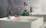 Color e Color Cube di Gattoni Rubinetteria. Un tocco di colore e creatività per il bagno contemporaneo.